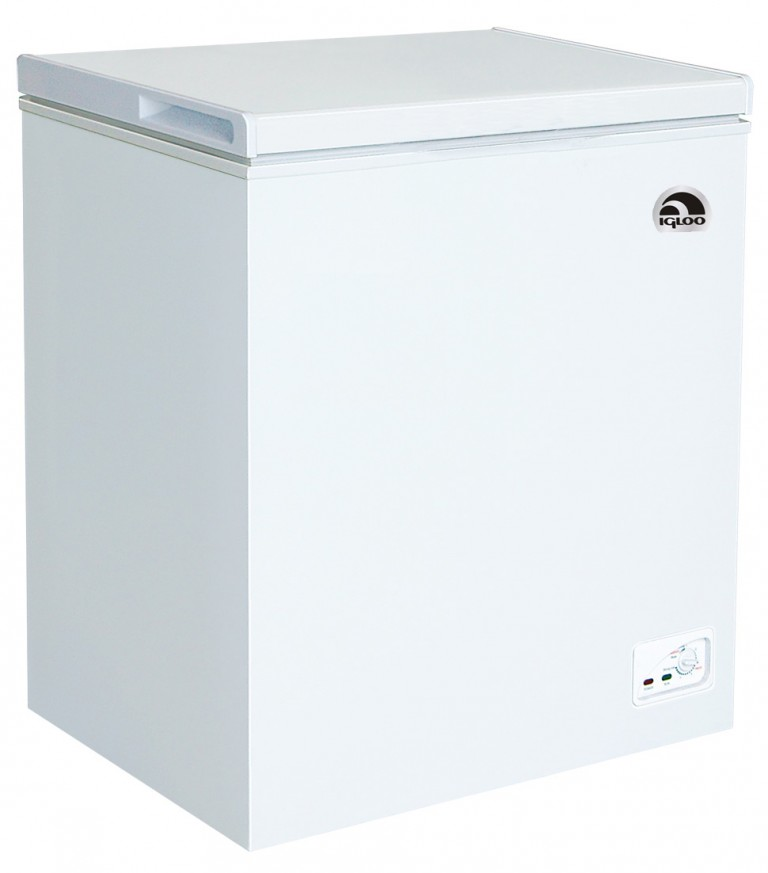 IGLOO 5.2 CU FT CHEST FREEZER