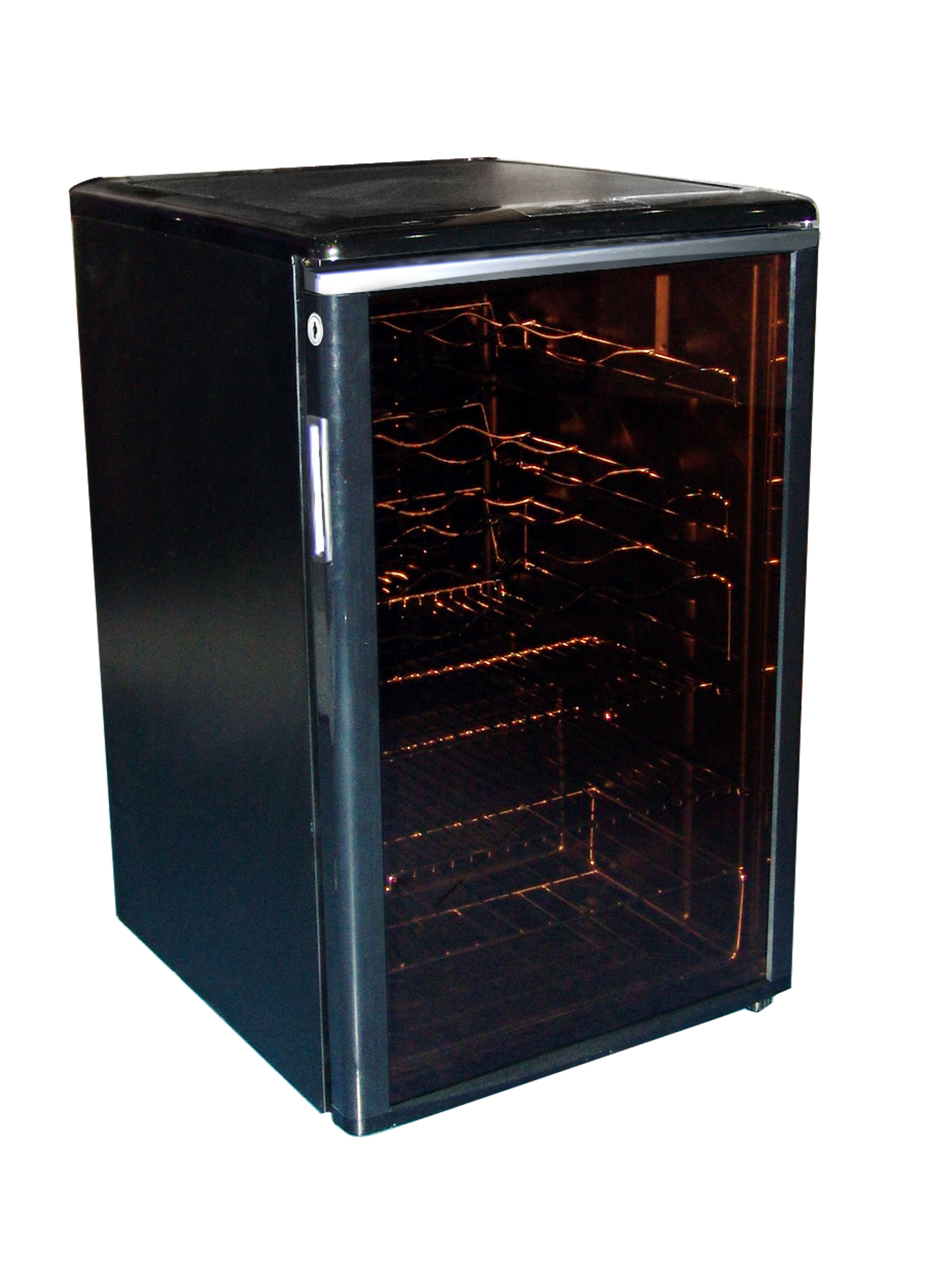 46 BOTTLE WINE COOLER ELECTRONIC TEMPERATURE CONTROL